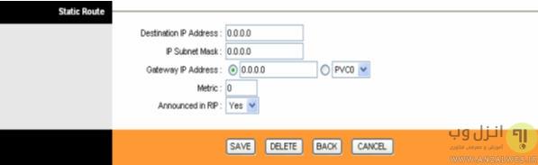 نحوه تنظیم آی پی ثابت در مودم های تی پی لینک TP-Link