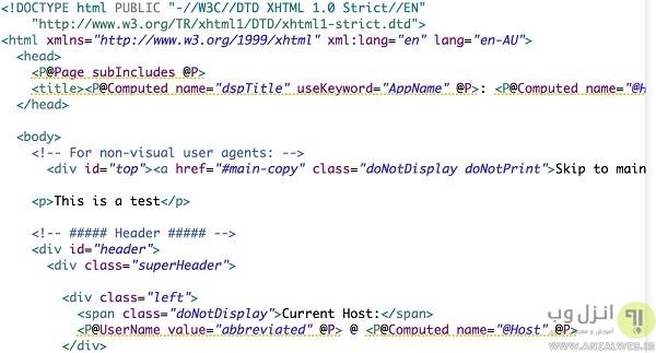 ادیتور متن برای وب سایت