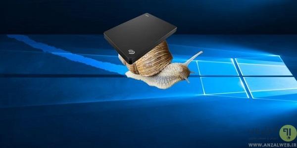 حل مشکل کند شدن سرعت هارد اکسترنال در ویندوز 10، 8، 7