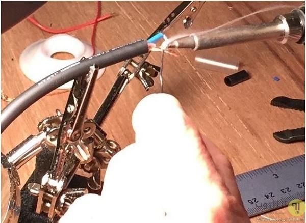 آموزش ساخت میکروفون تماسی