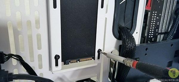 نحوه نصب هارد SSD در کیس