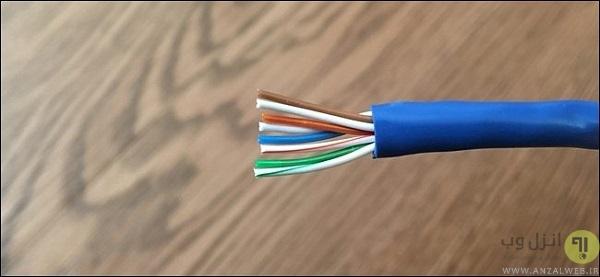 ساختن کابل شبکه