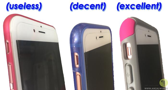 محافظ صفحه نمایش موبایل ضد ضربه