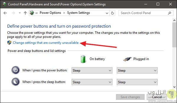 روشن نگه داشتن Num lock از طریق غیر فعال کردن Fast Startup
