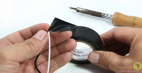 نحوه ساخت کابل Aux از هندرفری