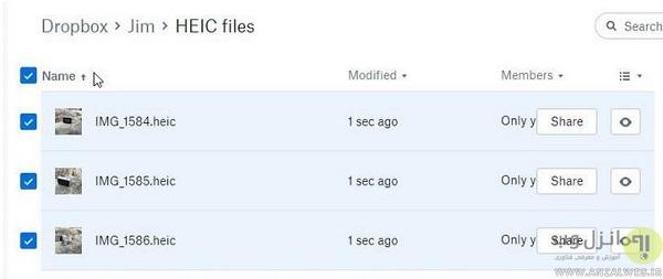 برنامه های تبدیل فرمت HEIC به JPG را دوست ندارید؟