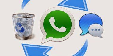 آموزش ۲ روش برتر بازیابی یا نحوه برگرداندن تصاویر ، اطلاعات و پیام های پاک شده در واتساپ