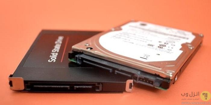 آموزش کامل تصویری نصب هارد یا حافظه SSD در کامپیوتر دسکتاپ و لپ تاپ