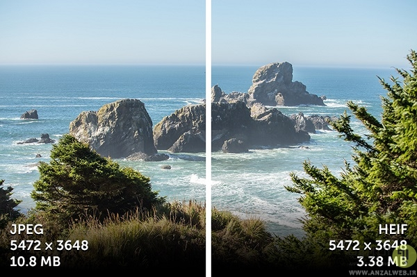 چرا به جای فرمت JPEG باید از فرمتHEIF استفاده کنیم؟