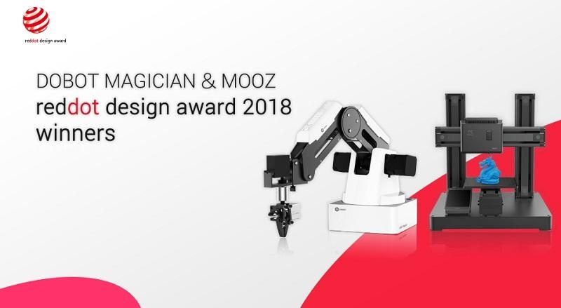 معرفی DOBOT MOOZ و DOBOT Magician ، یک نمونه موفق و پیشرفته از چاپگرهای سه بعدی !
