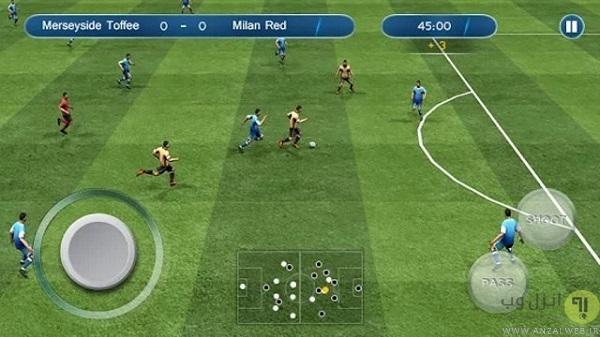 دانلود بازی فوتبال Ultimate Soccer
