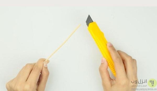 ساخت قلم لمسی با نوک باریک
