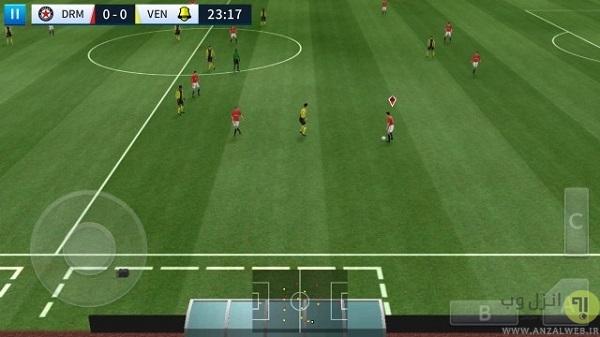دانلود بازی فوتبال اندروید Dream League Soccer بدون دیتا