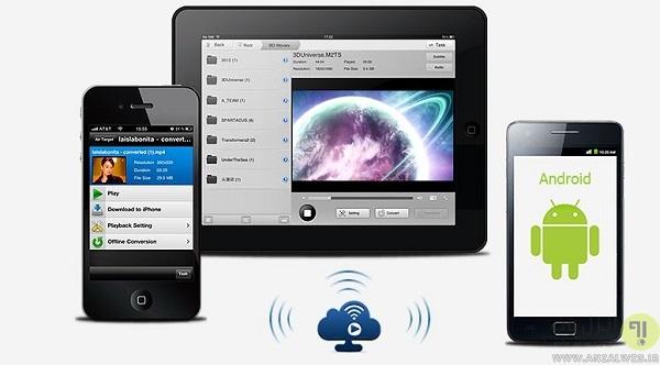 پخش همزمان ویدئو در دو گوشی با برنامه Air Playit