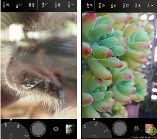 بالا بردن کیفیت دوربین اندروید با اپلیکیشن Manual Camera