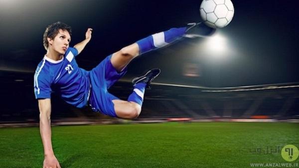 بازی فوتبال اندروید با دسته و آفلاین