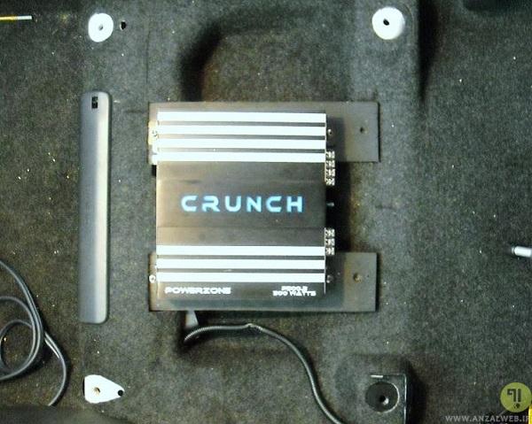 آموزش نصب آمپلی فایر ماشین