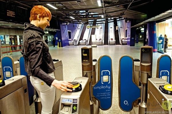 استفاده از NFC در سیستم پرداخت حمل و نقل عمومی