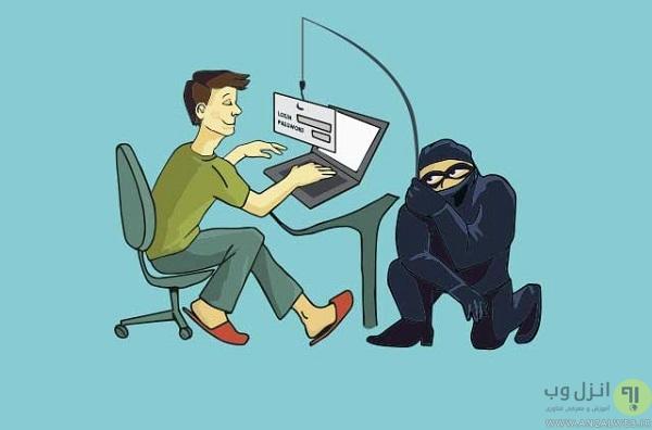 ساخت صفحه جعلی برای حملات فیشینگ هموگرافیک