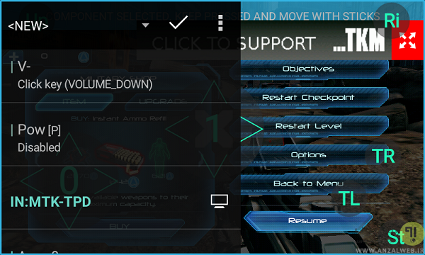 نرم افزار Tincore Keymapper برای اتصال دسته بازی به گوشی اندرویدی
