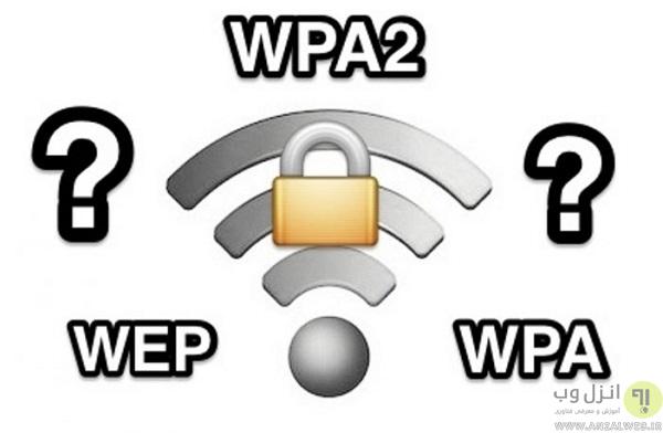 فرق بین WEP ،WPA WPA2 و WPA3