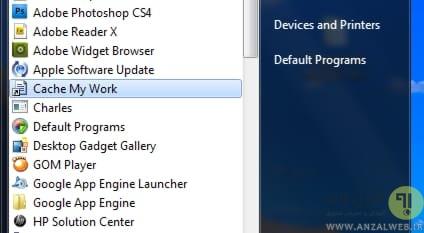 اجرای برنامه ها هنگام بوت ویندوز با نرم افزار Cache My Work