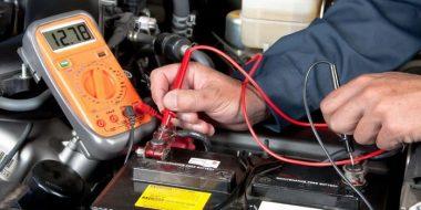 آموزش تصویری 3 روش تست خرابی باتری ماشین با اهم متر، مولتی متر و..