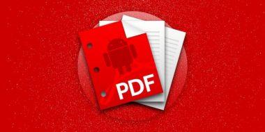 6 روش ساخت فایل PDF در اندروید با بهترین برنامه های پی دی اف ساز