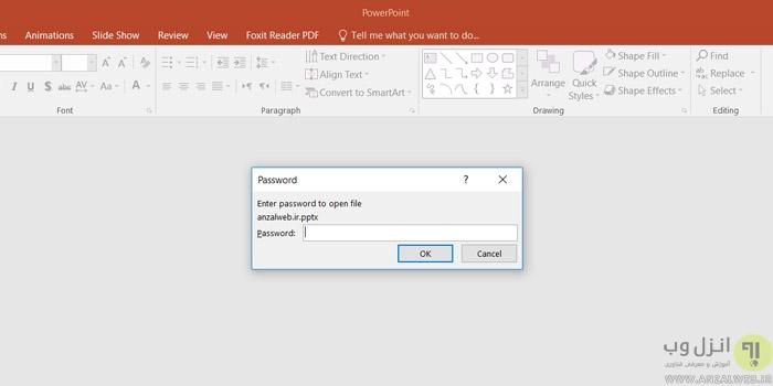 7 روش شکستن و برداشتن پسورد فایل پاورپوینت (PowerPoint)