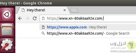 حمله Punycode Phishing