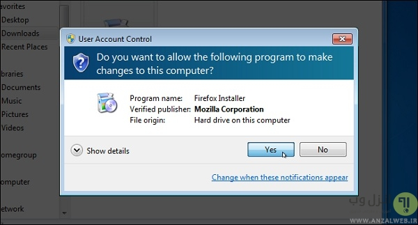 نحوه خاموش کردن User Account Control در ویندوز 7، 8 و 10