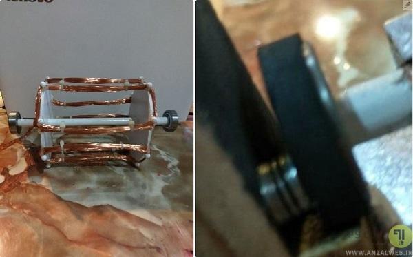 روش ساخت موتور الکتریکی قوی