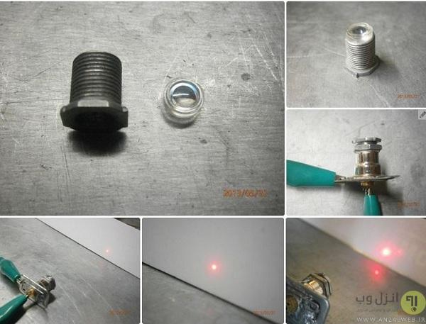 نحوه ساخت لیزر