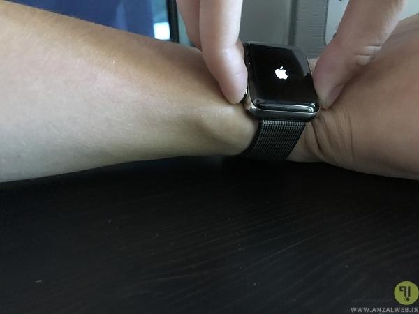 نحوه خاموش کردن و ریبوت اپل واچ