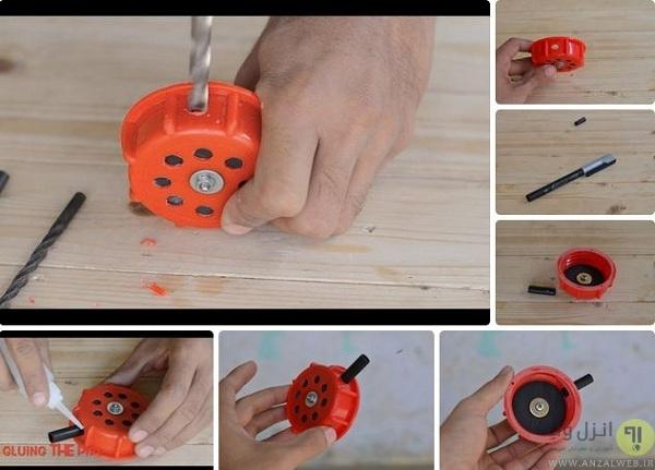 آموزش ساخت پمپ باد دستی