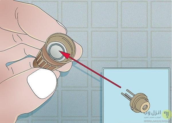 آموزش ساخت لیزر اشاره گر در خانه