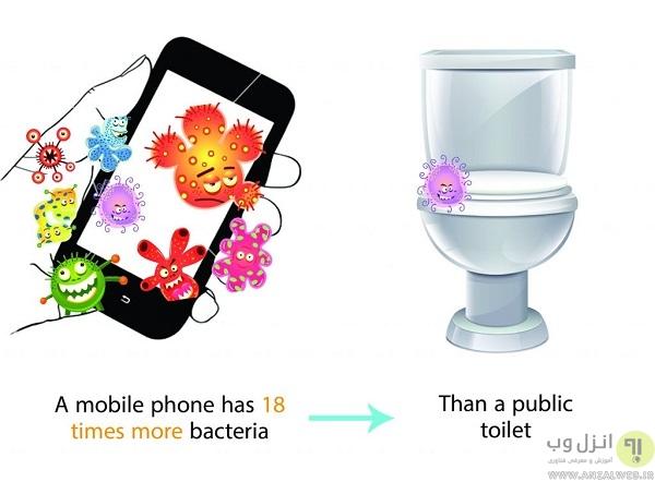 مضرات استفاده بیش از اندازه از موبایل