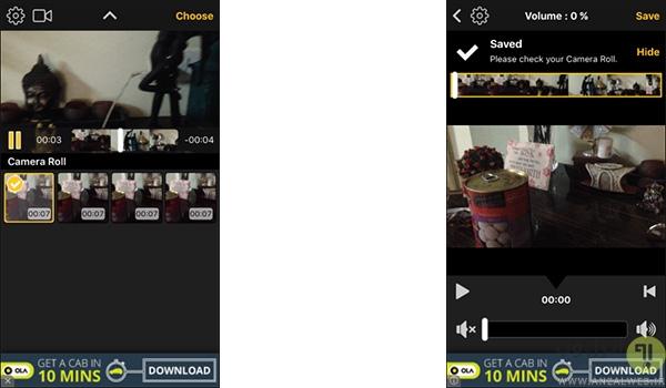 آموزش حذف صدا از ویدیو در اندروید و iOS