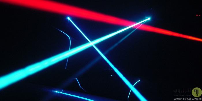 ساخت لیزر اشاره گر و حرارتی ساده با فندک، وسایل ساده و.. در خانه