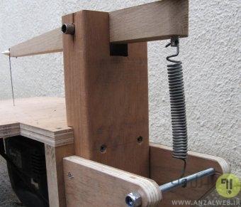 آموزش گام به گام ساخت اره مویی برقی روش دوم
