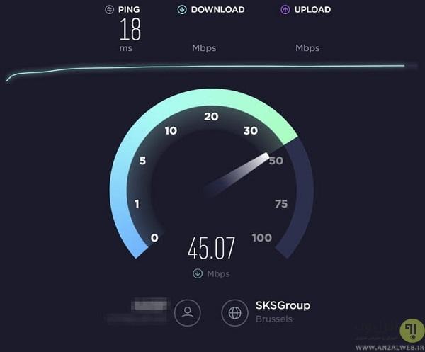 معرفی تست سرعت اینترنت آنلاین
