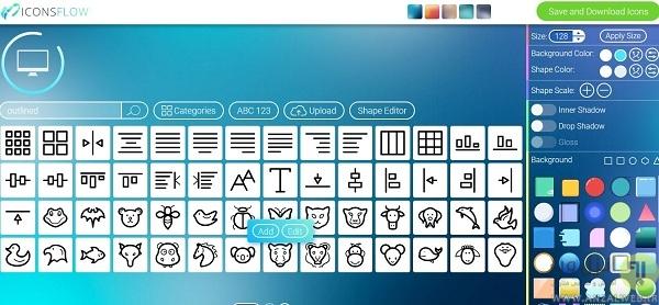 معرفی سایت iconsflow برای تبدیل عکس به آیکون آنلاین