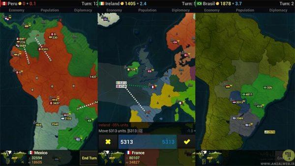 بازی Age of Civilizations در معرفی بهترین بازی های استراتژیک اندروید