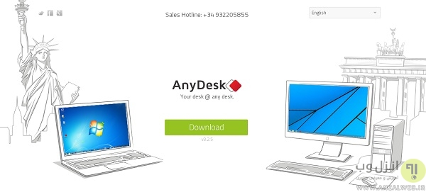 راهنمای استفاده از AnyDesk