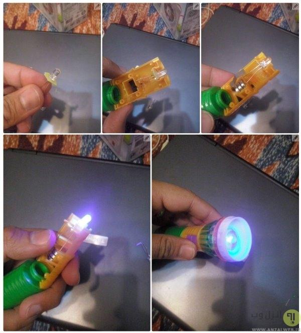 آموزش ساخت دستگاه تشخیص اسکناس تقلبی دستی در خانه
