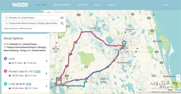 معرفی 8 تا از بهترین جایگزین های سرویس نقشه گوگل Google Map