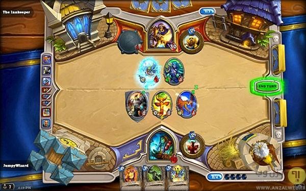 بازی استراتژی Hearthstone: Heroes of Warcraft اندروید