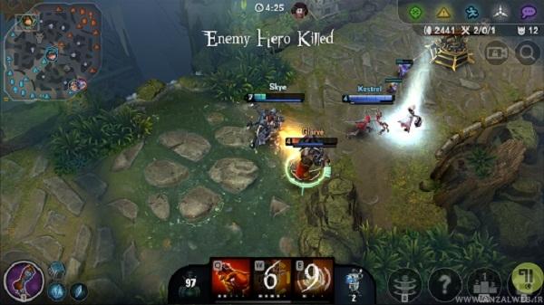 بازی استراتژی Vainglory