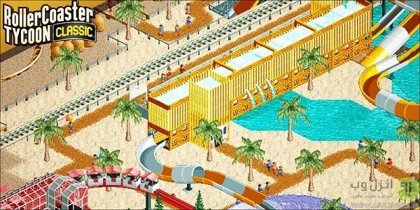 بازی Rollercoaster Tycoon Classic