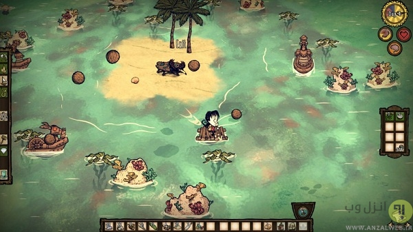 بازی استراتژی اندروید Don't Starve: Pocket Edition and Shipwrecked